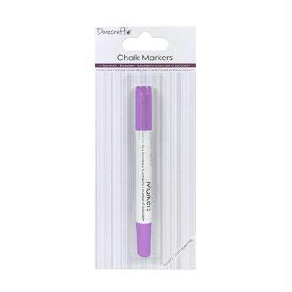 Marqueur Feutre Craie Chalk Markers Violet Sechage Rapide Effaçable Multi Surfaces