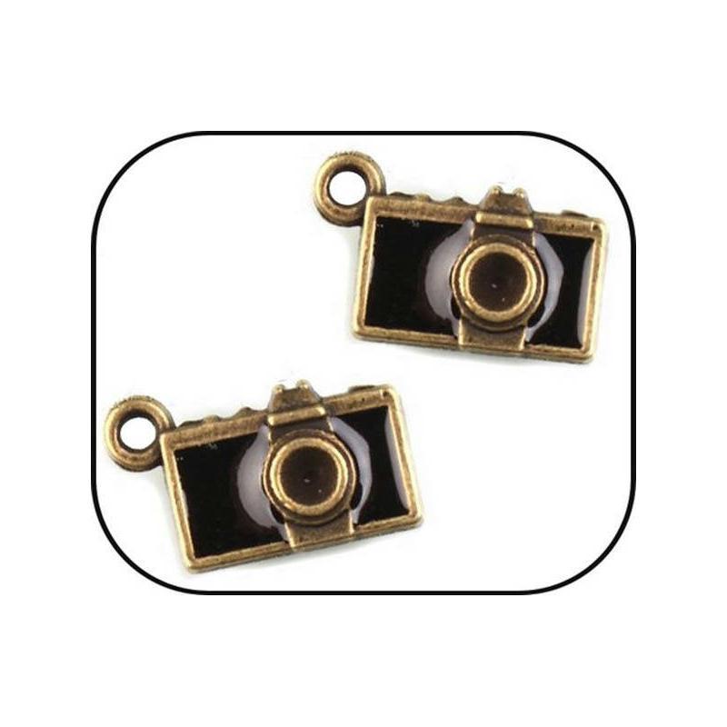 Lot 3 breloque charms appareil photo bronze scrapbooking for Appareils cuisine professionnels