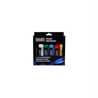 Pack 6 x 15 mm Paint Markers