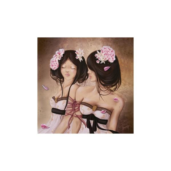 Image 3D - gk3030057 - 30x30 - femme gémeau - Photo n°1