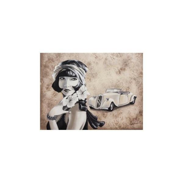 Image 3D - gk3040031 - 30x40 - femme charleston - Photo n°1