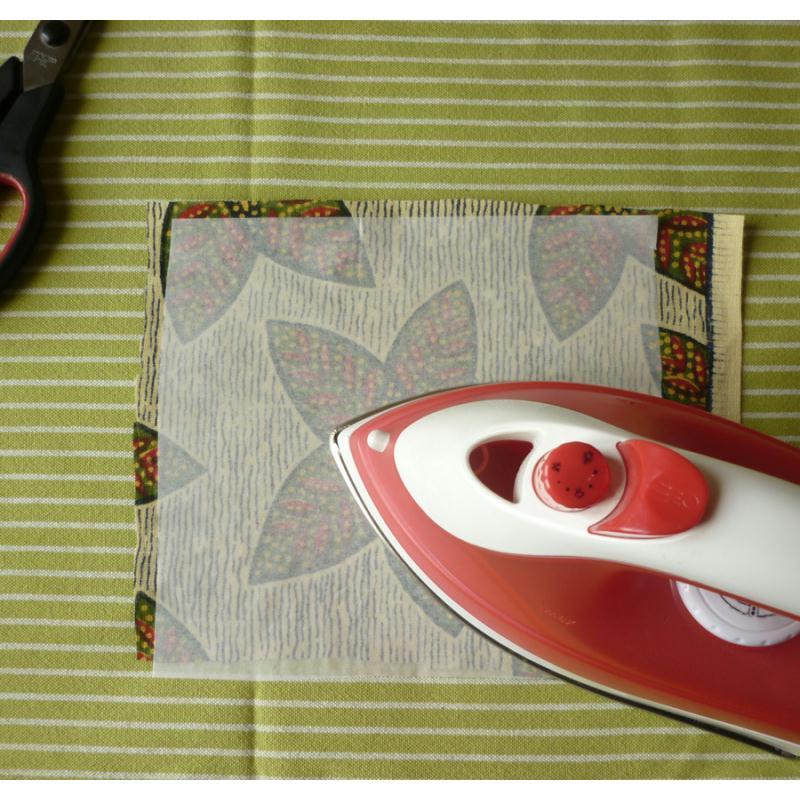 Vlieseline vliesofix thermocollant double face en coupon de 45 x 50 cm entoilage cr atif - Thermocollant double face ...