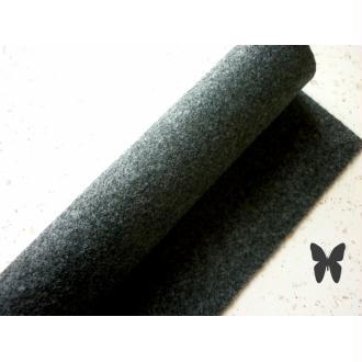 Feutrine Gris Foncé Orage 22 x 30 cm écologique, Recyclée, Souple, Lavable - À L'unité