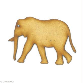 Forme en bois Animal - Eléphant
