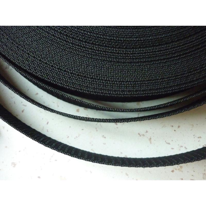 sangle noire 25 mm polypropyl ne au m tre r sistante et imputrescible sangles de sac. Black Bedroom Furniture Sets. Home Design Ideas