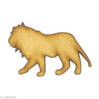 Forme en bois Animal - Lion