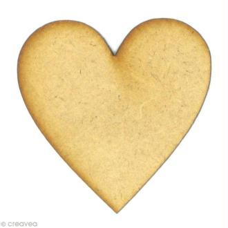 Forme en bois Amour - Coeur