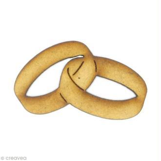 Forme en bois Amour - Alliances