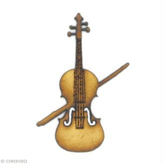 Forme en bois Instrument - Violon