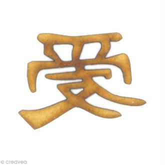 Forme en bois Asie - Amour