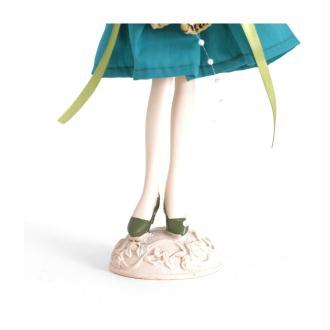 Poupée porte bijoux mixte robe multicolore Multicolore