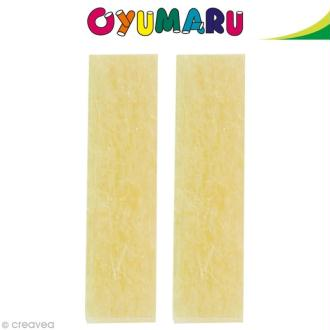 Pâte Oyumaru Or x 2 bâtonnets