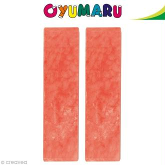 Pâte Oyumaru Rouge x 2 bâtonnets
