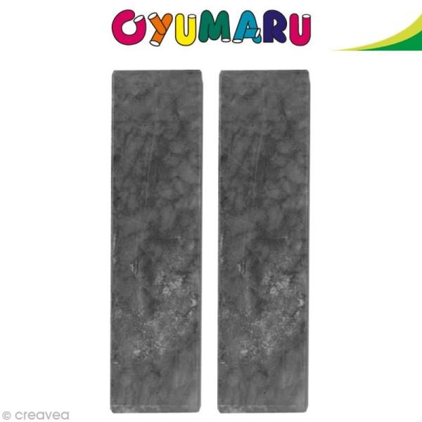 Pâte Oyumaru Noir x 2 bâtonnets - Photo n°1