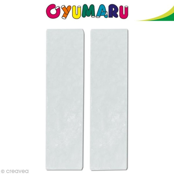 Pâte Oyumaru Transparent x 2 bâtonnets - Photo n°1