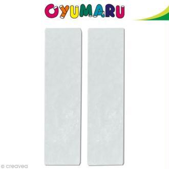 Pâte Oyumaru Transparent x 2 bâtonnets