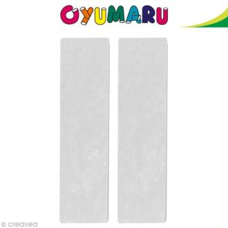 Pâte Oyumaru Blanc x 2 bâtonnets