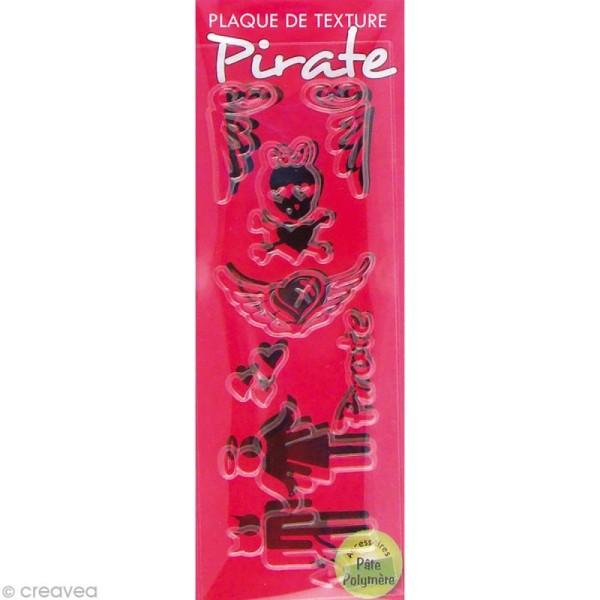Mini plaque de texture Pirate 13,5 x 5 cm - Photo n°1