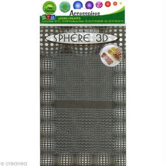 Plaque de texture Boules 3D 20,5 x 13,5 cm