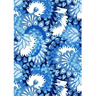 Décopatch Bleu violet 579 - 1 feuille