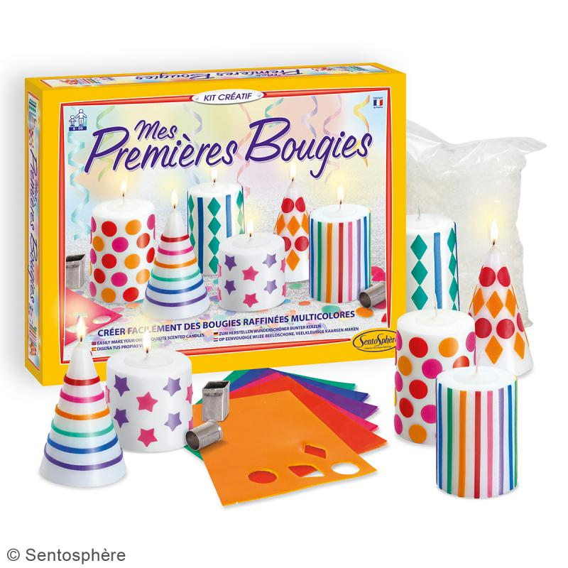 kit cr atif mes premi res bougies kit bougies creavea. Black Bedroom Furniture Sets. Home Design Ideas