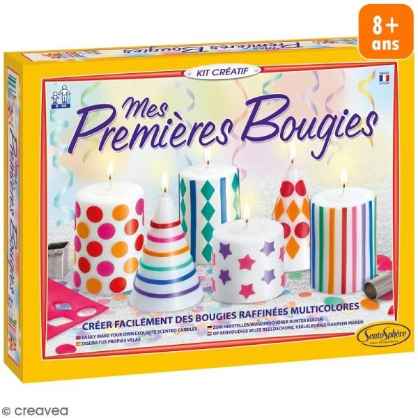 Kit créatif Mes premières bougies - Photo n°1