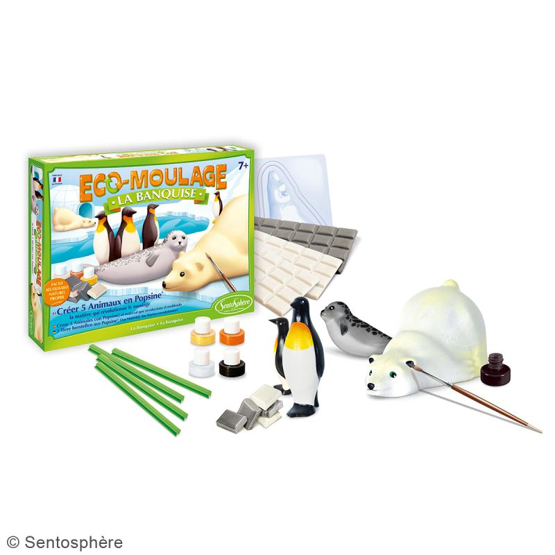 Coffret Eco-moulage Popsine - La banquise - Photo n°2