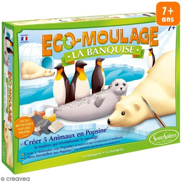 Coffret Eco-moulage Popsine - La banquise - Photo n°1