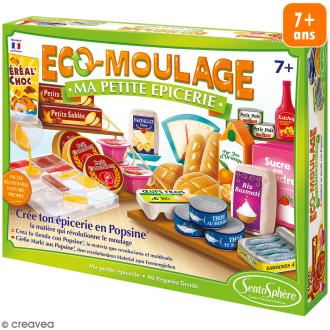 Coffret Eco-moulage Popsine - Ma petite épicerie