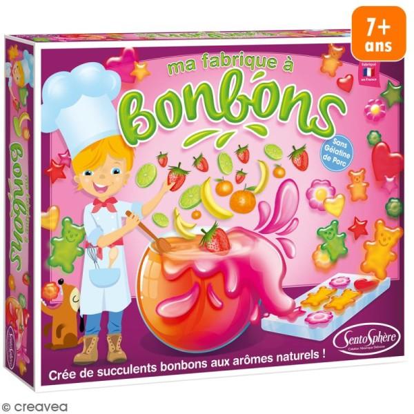 Kit créatif La fabrique à bonbons - Photo n°1