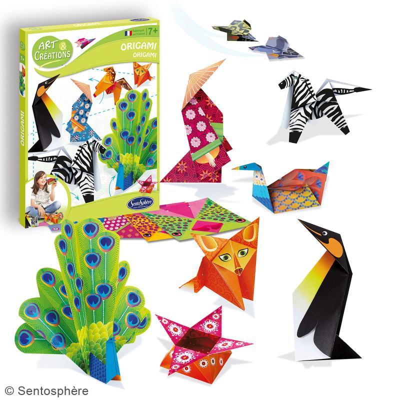 jeu art cr ations kit origami animaux kit origami creavea. Black Bedroom Furniture Sets. Home Design Ideas