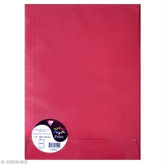 Enveloppe Pollen 229 x 324 - 120 g - Rouge groseille - 5 pcs