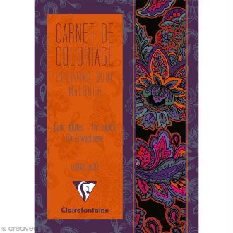 Carnet de coloriage A5 pour adulte - Bollywood - 18 pages