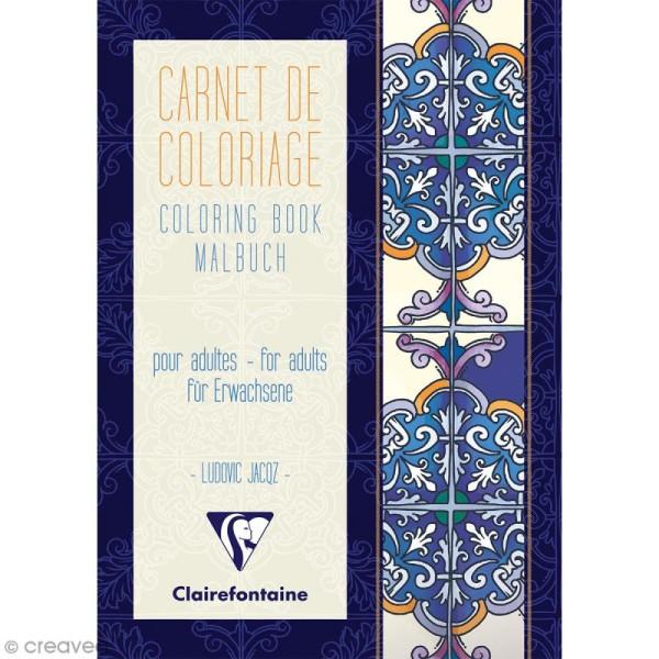 Carnet de coloriage A5 pour adulte - Mediterranée - 18 pages - Photo n°1