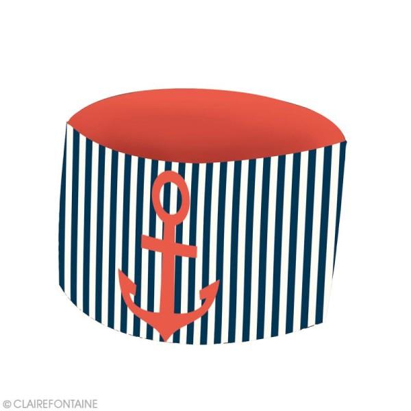 Kit décoration de table Clairefontaine - Marin - 12 pcs - Photo n°6