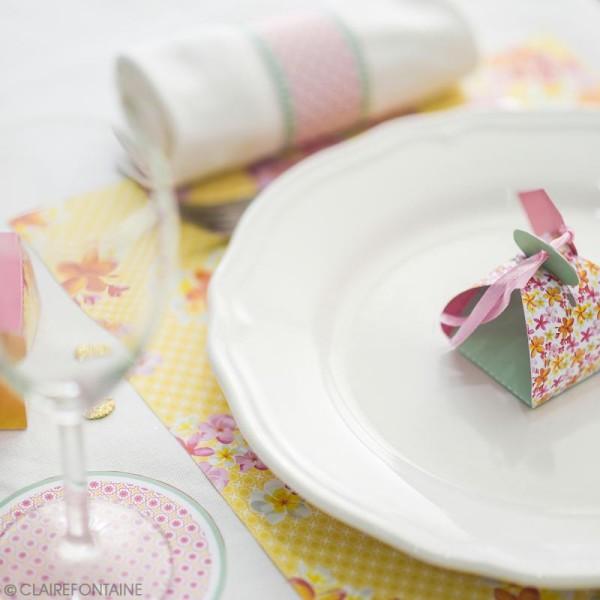 Kit décoration de table Clairefontaine - Printemps - 12 pcs - Photo n°2