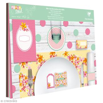 Kit décoration de table Clairefontaine - Printemps - 12 pcs