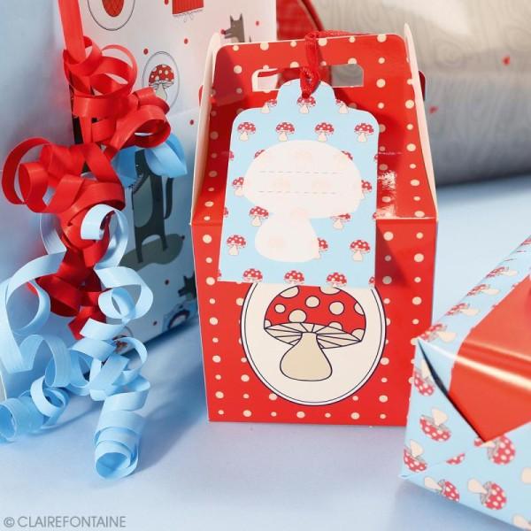 Feuille papier cadeau Clairefontaine - 50 x 70 cm - Enfant - 10 pcs - Photo n°3