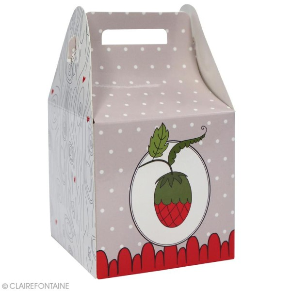 Lot de boîtes cadeaux à monter Clairefontaine - Enfant - 4 pcs - Photo n°2