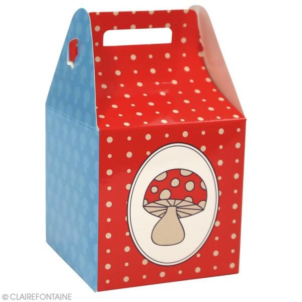 Lot de boîtes cadeaux à monter Clairefontaine - Enfant - 4 pcs - Photo n°3