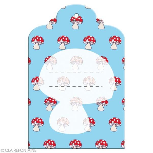 Etiquette imprimée avec ruban Clairefontaine - Enfant - 6 pcs - Photo n°3