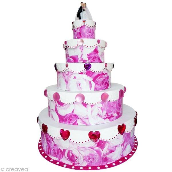 Boîte gigogne gâteau de cérémonie x 5 - Photo n°2