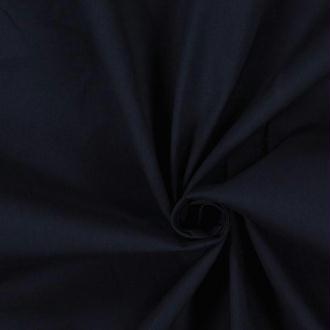 Tissu coton bleu nuit