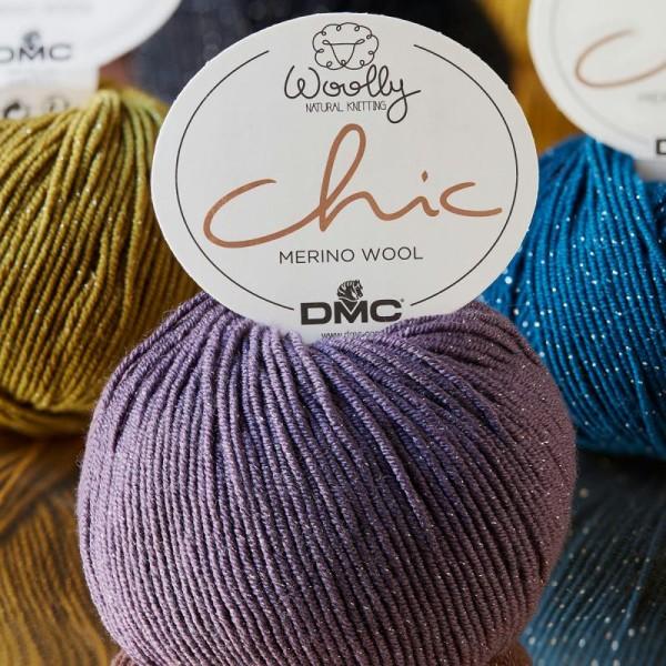 Laine DMC - Woolly Chic - 50 g - Photo n°2