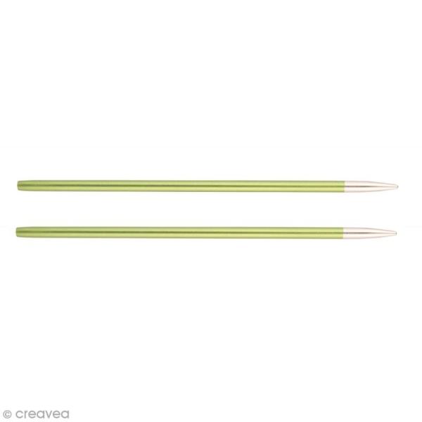 Aiguilles circulaires interchangeables Knit Pro - Vert - N°3,5 - Photo n°1