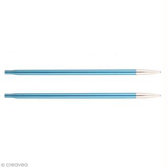 Aiguilles circulaires interchangeables Knit Pro - Bleu - 4 mm