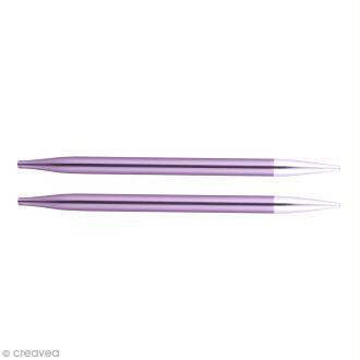 Aiguilles circulaires interchangeables Knit Pro - Violet - 7 mm