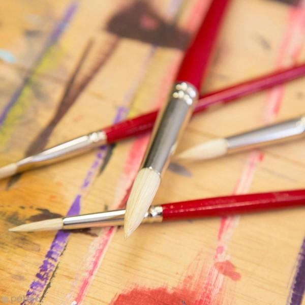 Pinceau Iris Soie Pébéo - Rond - N° 10 - Photo n°2