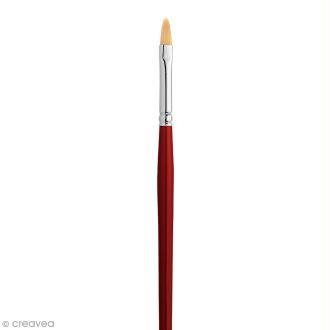 Pinceau Iris Soie Pébéo - Usé bombé - N° 10