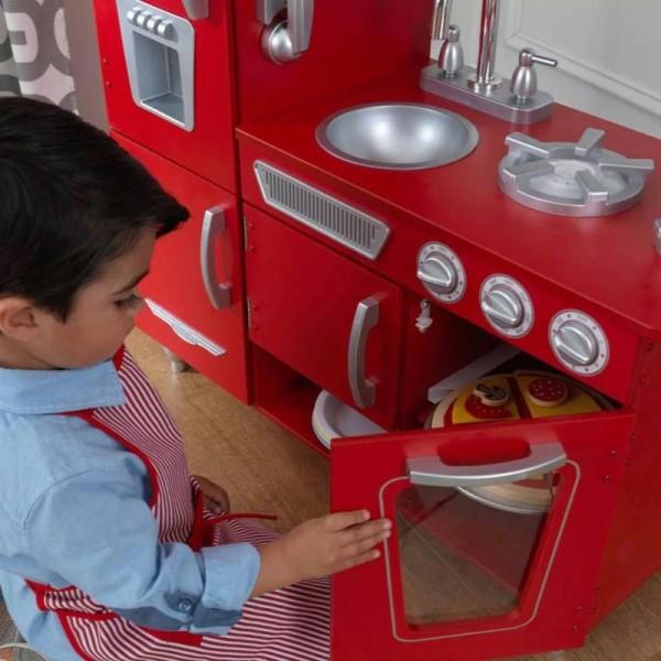 Kidkraft - Cuisine Vintage Rouge - Photo n°5